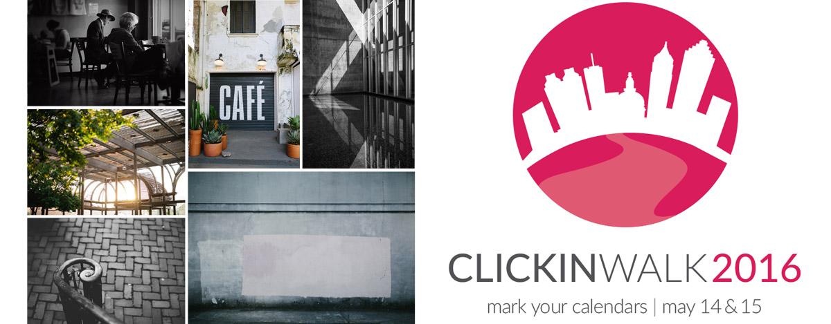 Clickin Walk photo walk in May 2016